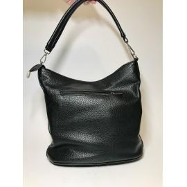Via55 ezüst/fekete táska